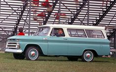 1965 Chevrolet Suburban.