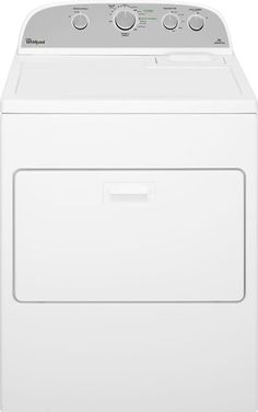 Whirlpool - 7.0 Cu. Ft. 13-Cycle Gas Dryer - White - Larger Front