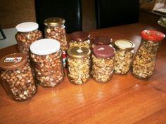 Zavárané vlašské orechy a lieskovce (fotorecept) - obrázok 4