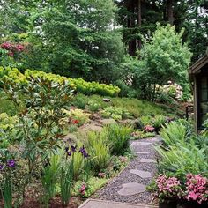 Landscaping on a slope - How to make a beautiful hillside garden