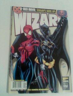 WIZARD MAGAZINE SPIDER-GIRL BATGIRL COVER # 97 1999