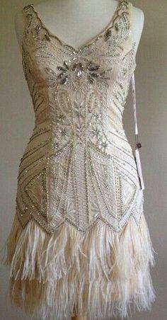 Art deco/gatsby bridal/plus size/possible reception dress.