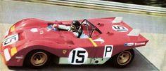Jacky Ickx Ferrari 312 PB @ RING71