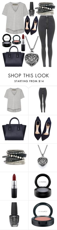 """""""Untitled #596"""" by daimy-style ❤ liked on Polyvore featuring Enza Costa, Topshop, Christian Dior, H&M, MAC Cosmetics, OPI, women's clothing, women's fashion, women and female"""