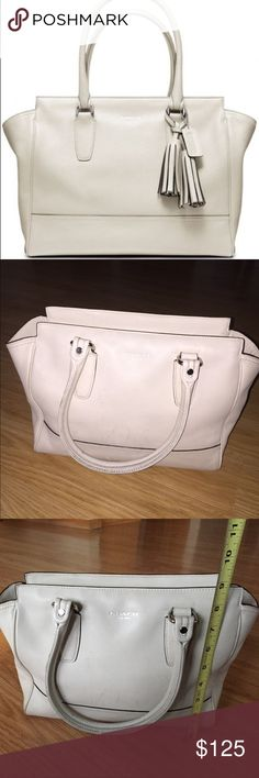 Coach Candace ivory hand bag purse authentic Coach Coach Candace ivory hand bag purse authentic Coach Coach Bags