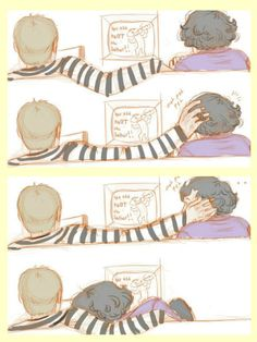 Johnlock <3 this is so adorable