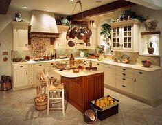I love this kitchen. . . I might even want to cook in it. . . . .