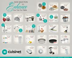 Everything you need to set your yom gov table. #cuisinet #montreal