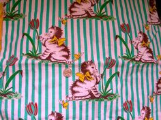 Vintage Cotton Feed sack Quilting Fabric  ADORABLE  by anne8865, $85.00