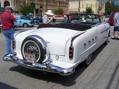 1952 PACKARD with continental kit
