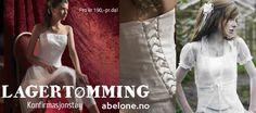 SALG på kjoler, dresser, brudekjoler og tilbehør hos www.abelone.no  #brudekjoler #bryllup #brudesalong #abelone #abelonecollection #abelonebrudesalong #eventyrbryllup #brudesalonger #brudekjole #blondebrudekjole #eternitybride #artcoutoure #lilly #brudesko