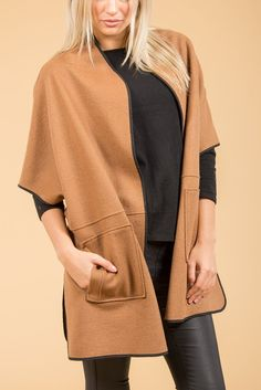- Cashmere Cape - Pack of 3 Cashmere Cape, Mocha, Luxury, Sweaters, Collection, Fashion, Best Of Luck, Moda, Sweater