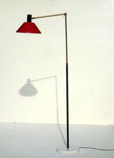 STILUX floor lamp 50 s design italian midcentury piantana lampada terra stilnovo