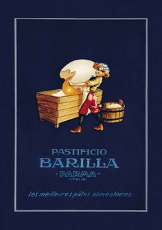 'The Barilla Baker Boy' became an effective symbol to communicate with customers who could not read or write in the early 1900s.