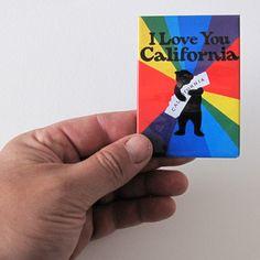 Rainbow Bear Magnet