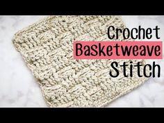 Crochet Basketweave Stitch