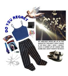"""""""and on my deathbed, all i'll see is you"""" by anenomea ❤ liked on Polyvore"""
