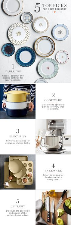 Create a registry at Williams-Sonoma and you'll automatically be entered for a chance to win!