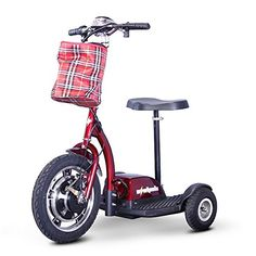 Stand and Ride Scooter Color Red * Click the VISIT button to enter the Amazon website