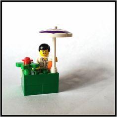 Lego Man Joe takes a much needed holiday break.