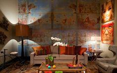 Madeira e tons terrosos se destacam na Casa Cor Rio 2012. Veja os ambientes - Decoração - iG