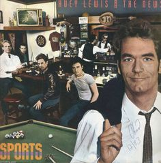 Huey Lewis And The News Sports Vinyl LP Record Album