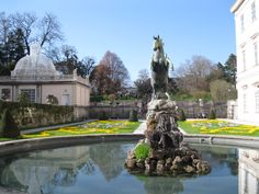 Mirabell Garden, Salzburg, Austria - the fountain the children dance around in Do Re Mi from The Sound of Music