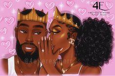 Black Couple Art, Black Love Couples, Black Love Art, Black Girl Art, Black Cartoon Characters, Cartoon Art, Black Art Painting, Natural Hair Art, Pop Art Girl