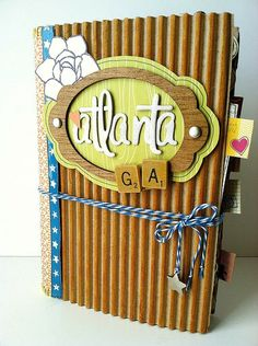 Trip Documentation - Altered Book..... Gallery - Scrapbooking - Daily Featured Projects - Two Peas in a Bucket