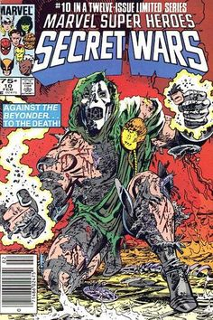Marvel Super Heroes Secret Wars 1984 (This was a game changer for us. It was such a great story line across the entire Marvel-verse. Marvel Comics, War Comics, Marvel Comic Books, Comic Book Characters, Comic Character, Marvel Avengers, Best Comic Books, Comic Books Art, Comic Art
