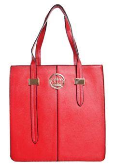 c2474ef0ef09d Bolsa Queens Block Vermelha - Compre Agora