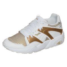 #PUMA #Damen #Blaze #Gold #Sneaker #Damen #weiß - Der Blaze Gold Sneaker ist an…