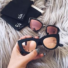 """""""These sunglasses are SO necessary  (: @sarahhashcroft) Shop them via the link in the bio """""""
