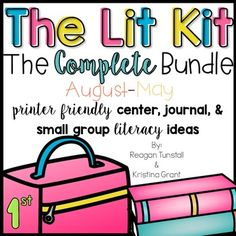 The lit kit addresses your literacy needs by covering both Common Core and Texas Teks in the most engaging teacher friendly way!  ************************Please Read*************************This is a growing bundle.  It contains 3 out of 9 units.   You can buy in at a discounted price, but the price of the bundle will increase as more units are added.