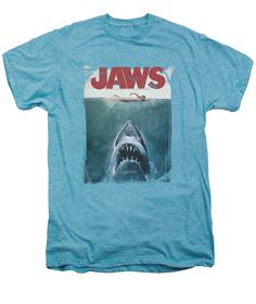 Project Shirt - Men's Jaws T-Shirt with Vintage Movie Graphic, $28.00 (http://www.projectshirt.com/jaws-t-shirt-with-vintage-movie-graphic/)