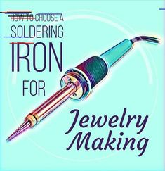 How To Choose A Soldering Iron For Jewelry Making - new season bijouterie Diy Jewelry Tutorials, Jewelry Making Tools, Jewellery Making, Chain Nose Pliers, Broken China Jewelry, Diy Jewelry Inspiration, Jewelry Ideas, Diy Jewelry Findings, Beaded Jewelry