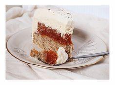 Rhabarber-Vanillecreme-Torte / Rhubarb Vanilla Cream Cake – Kuchenphilosophie