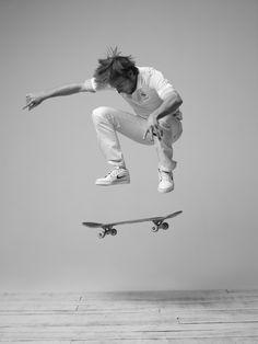 Alex Olson, skateur « L'élégance dans le sport, c'est être bon dans ce que tu fais, avec grâce, et le faire de manière fluide. »
