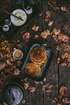 Autumn Camping + Pumpkin Mascarpone Pancakes & Butternut Chili - Adventures in Cooking Pumpkin Pancakes, Ricotta Pancakes, Savory Pancakes, Protein Pancakes, Breakfast Pancakes, Autumn Cozy, Autumn Fall, Autumn Morning, Autumn Feeling