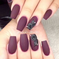 15-Matte-Black-Gel-Nail-Art-Designs-Ideas-Trends-2016-11