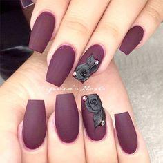 15-Matte-Black-Gel-Nail-Art-Designs-Ideas-Trends-2016-11
