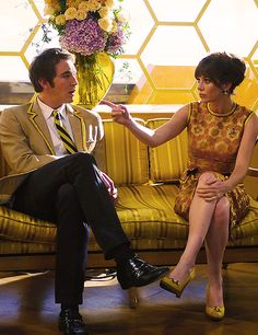 "Charlotte ""Chuck"" Charles (Anna Friel), Ned (Lee Pace), Pushing Daisies"