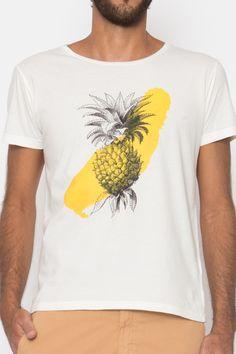 Camiseta Abacaxi Stroke http://www.davidemancinelli.it/clothes