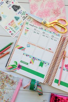 Here are TWO ways to use ONE set of washi tape in your planner layouts. One is in my Erin Condren LifePlanner and one in my Happy planner. These are easy decoration ideas that are also super affordable and fun! Passion Planner, Life Planner, Happy Planner, Washi Tape Planner, Washi Tape Set, Planner Layout, Planner Ideas, Best Planners, Planner Supplies