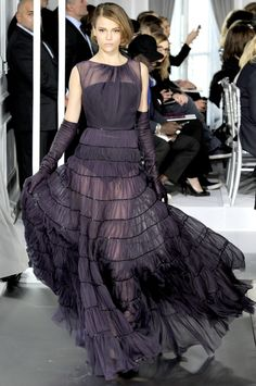Элегантное каре: Christian Dior Haute Couture 2012