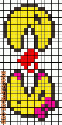 Friendship Bracelet - Pacman & Mrs Pacman
