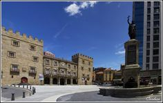 Gijón - Plaza de Pelayo