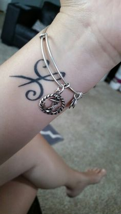 My Celtic friendship tattoo me and bestie have the same one. Cute :)