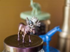 My take on the plastic animal DIY trend | Gendots