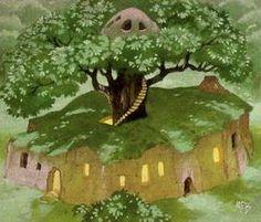 Rhosgobel, the home of Rhadagast the brown.....